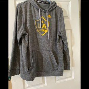 Adidas LA Galaxy sweatshirt size large